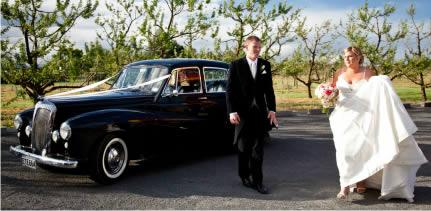 Deco City Discoverer - our 1954 Daimler Conquest is the perfect wedding car or hire for a classic car tour