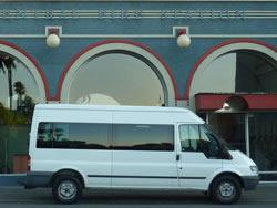 Deco City Discoverer - Transit vans ideal for private tours, wine trails, wedding transport, transport you and your friends out for dinner, sports teams or groups for any occasion