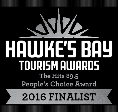 Hawke's Bay Tourism Awards, People's Choice Award - 2016 Finalist
